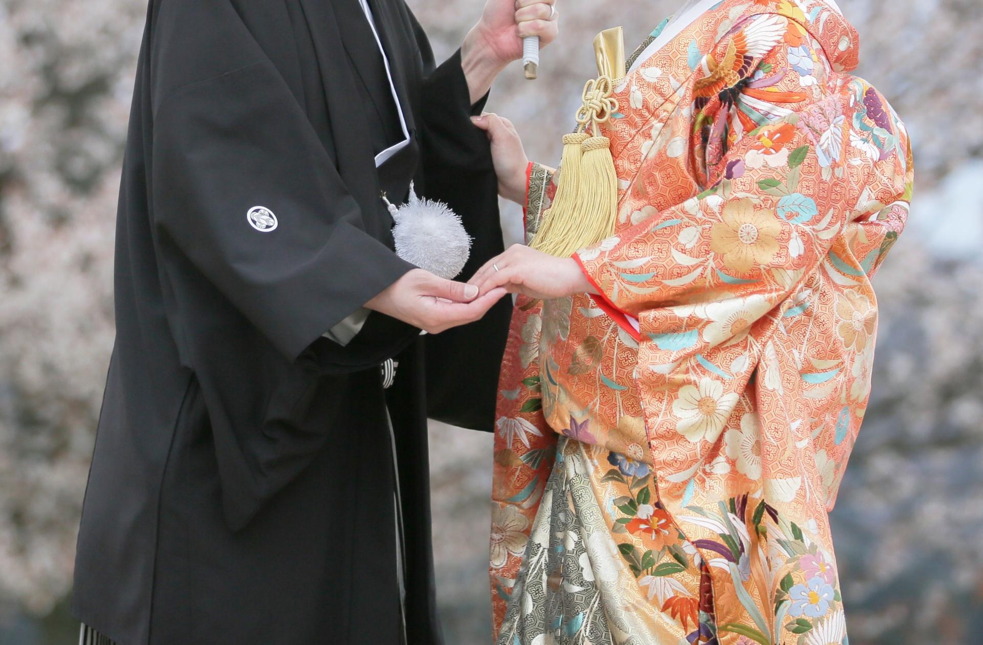 花嫁さんの振袖 出張着付け